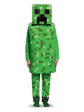 Minecraft Child Deluxe Creeper Costume