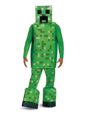 Adult Prestige Creeper Minecraft Costume