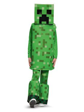 Minecraft - Creeper Child Prestige Costume