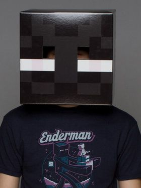 Minecraft Enderman Head For Adults