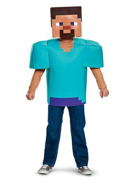 Minecraft - Steve Child Classic Costume