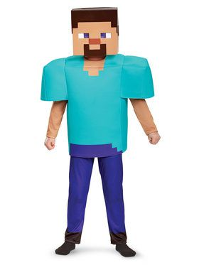 Minecraft Child Steve Deluxe Costume