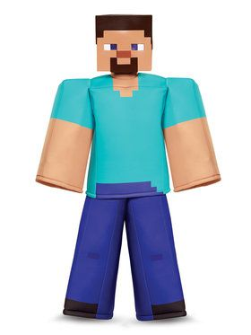 Minecraft - Steve Prestige Child Costume