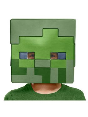 Child Zombie Minecraft Half 2018 Halloween Masks