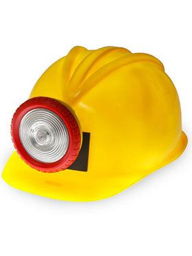 Miner Hard Hat With Light