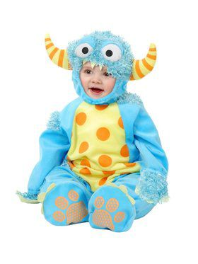 Mini Monster - Toddler Child Blue