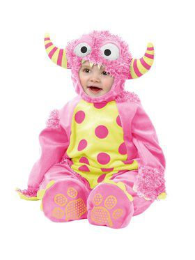 Mini Monster - Toddler Child Pink