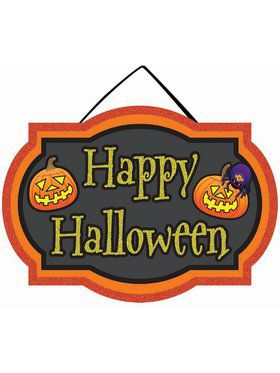 Mini Sign - Happy Halloween