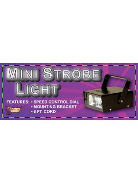 Mini Strobe Light