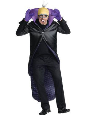 Minions Movie: Adult Dracula Minion Costume