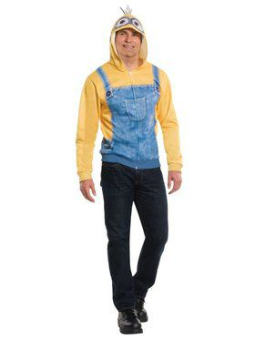 Adult Minion Hoodie Minions Movie