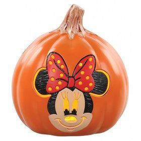 Minnie Mouse 6 In Light Up Pumpkin Decoration