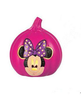 Minnie Mouse 6 Light-Up Pumpkin