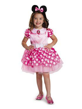 Toddler Minnie Mouse Pink Costume