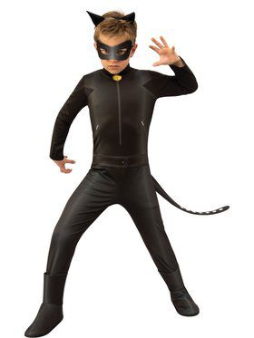 Miraculous Ladybug Cat Noir Child Costume