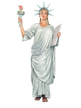 Miss Liberty Adult Costume