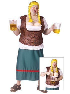Miss Oktoberfest Adult Plus Costume