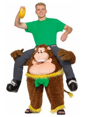 Monkeyin' Around Pull-On Pants Adult Costume