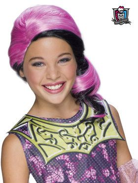 Monster High Draculaura Wolf Child Wig