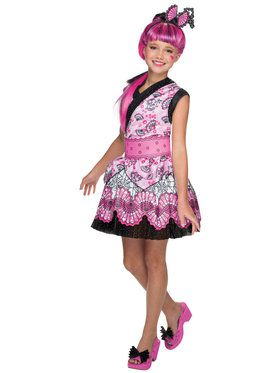 Monster High Girls Draculaura Costume