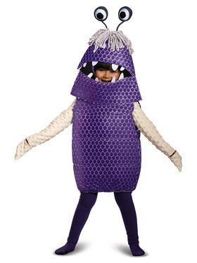 Monsters Inc. - Boo Deluxe Toddler Costume