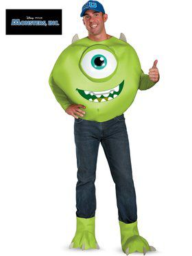 Monsters Inc. Mike Deluxe Adult Costume