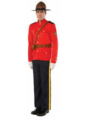 Mountie - Standard Adult Costume