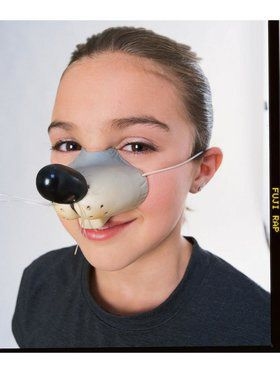 Costume Mouse Nose Accessory for Adults