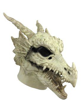 Skull Dragon Moving Jaw 2018 Halloween Masks