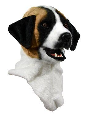 Moving Jaw St. Bernard Mask