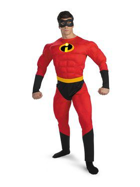 b6c5c7af5 Mr. Incredible Muscle Adult Costume