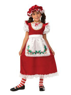 Mrs. Santa Claus Child Costume