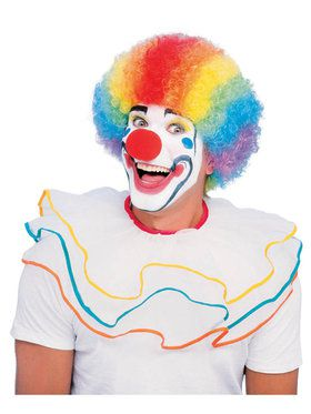 Multicolor Clown Wig For Adults