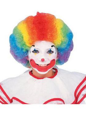 Multicolor Clown Wig
