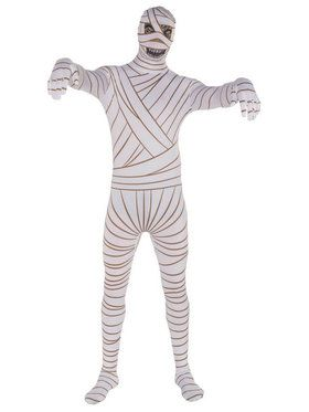Mummy Skin Suit Adult Costume