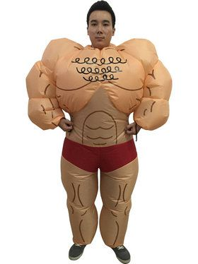Muscle Man Inflatable Adult Costume  sc 1 st  BuyCostumes.com & Funny Costumes - Kids and Adults Halloween Costumes | BuyCostumes.com