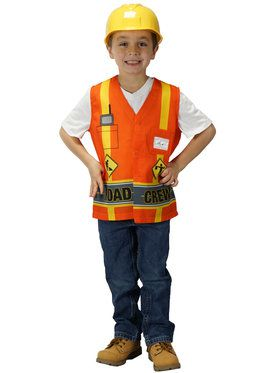 My First Career Gear - Road Crew Toddler Costume Toddler 3/5