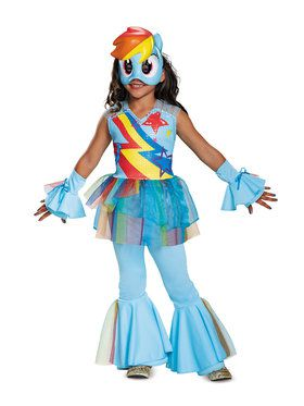 My Little Pony: Rainbow Dash Deluxe Child Costume