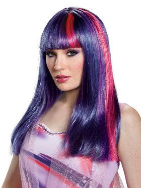 My Little Pony: Twilight Sparkle Adult Wig One-Size