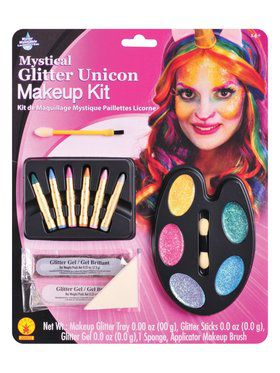 Mystical Glitter Unicorn Make - Up Kit