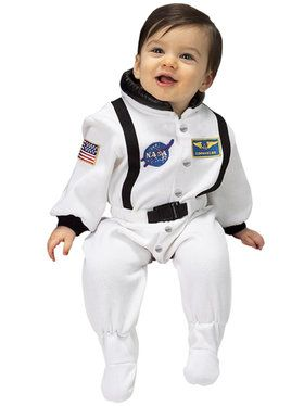 NASA Jr. Astronaut Suit (White) Infant Costume