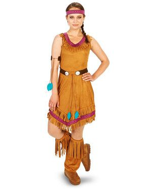 78c0a8c1c Native Princess Adult Costume