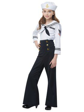 Navy / Sailor Girl's Costume