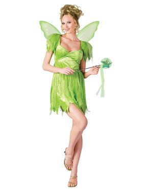 Neverland Fairy Adult Costume  sc 1 st  BuyCostumes.com & Fairy and Elf Costumes - Kids and Adults Halloween Costumes ...