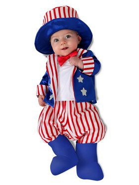 Baby Patriotic Sam Costume