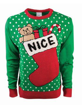 Nice Stocking Christmas Sweater