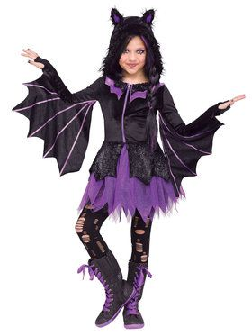Night Flyer Girl's Costume