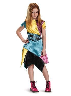 Nightmare Before Christmas Sally Classic Girls Costume