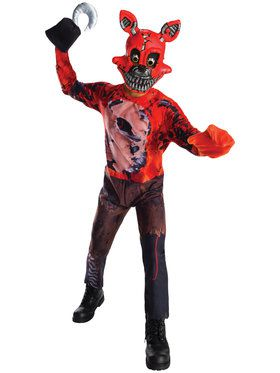 Nightmare Foxy Child Costume