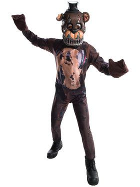Nightmare Freddy Child Costume